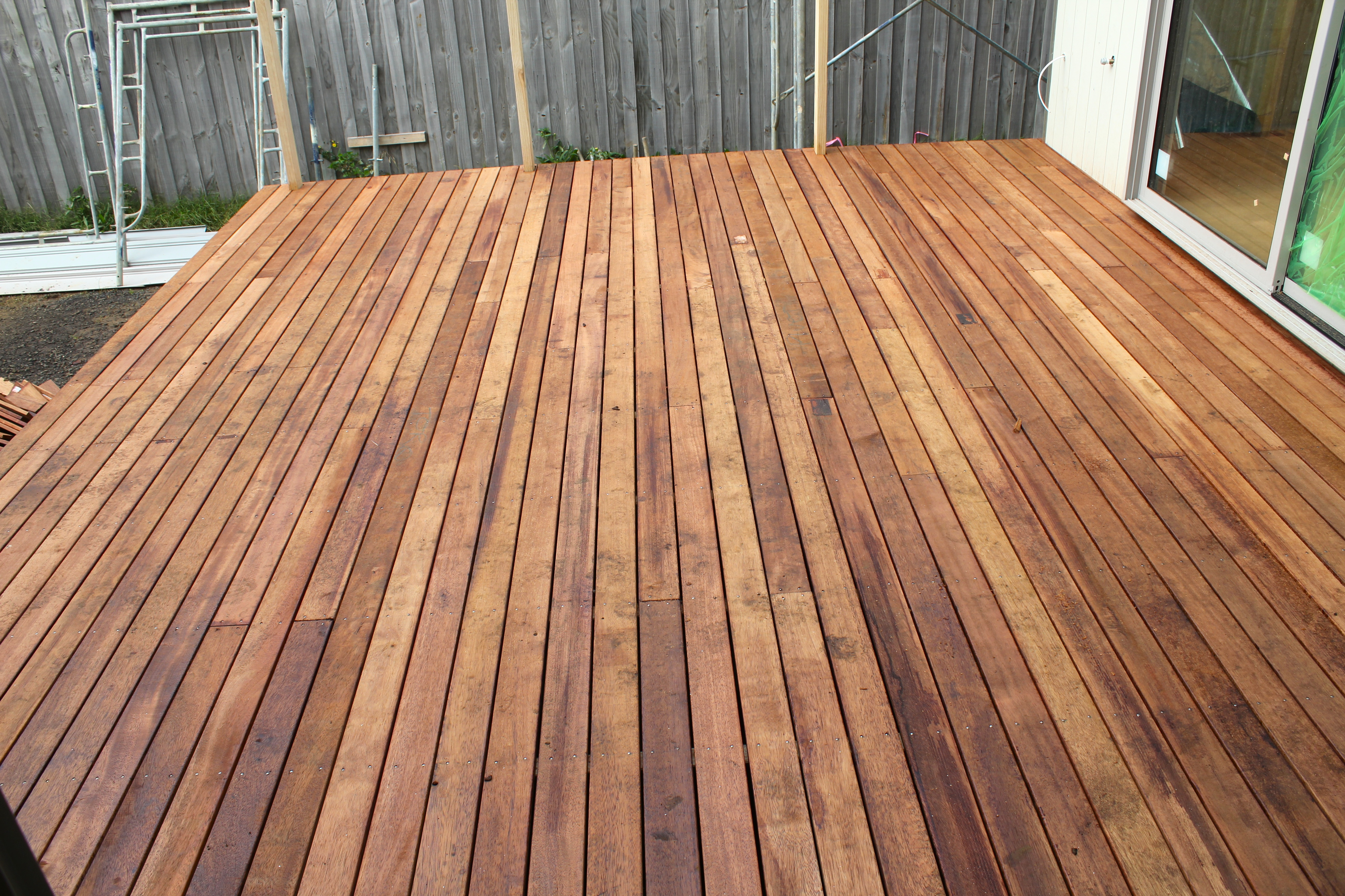Decks and insulation completed lot 271 for Balcony decking