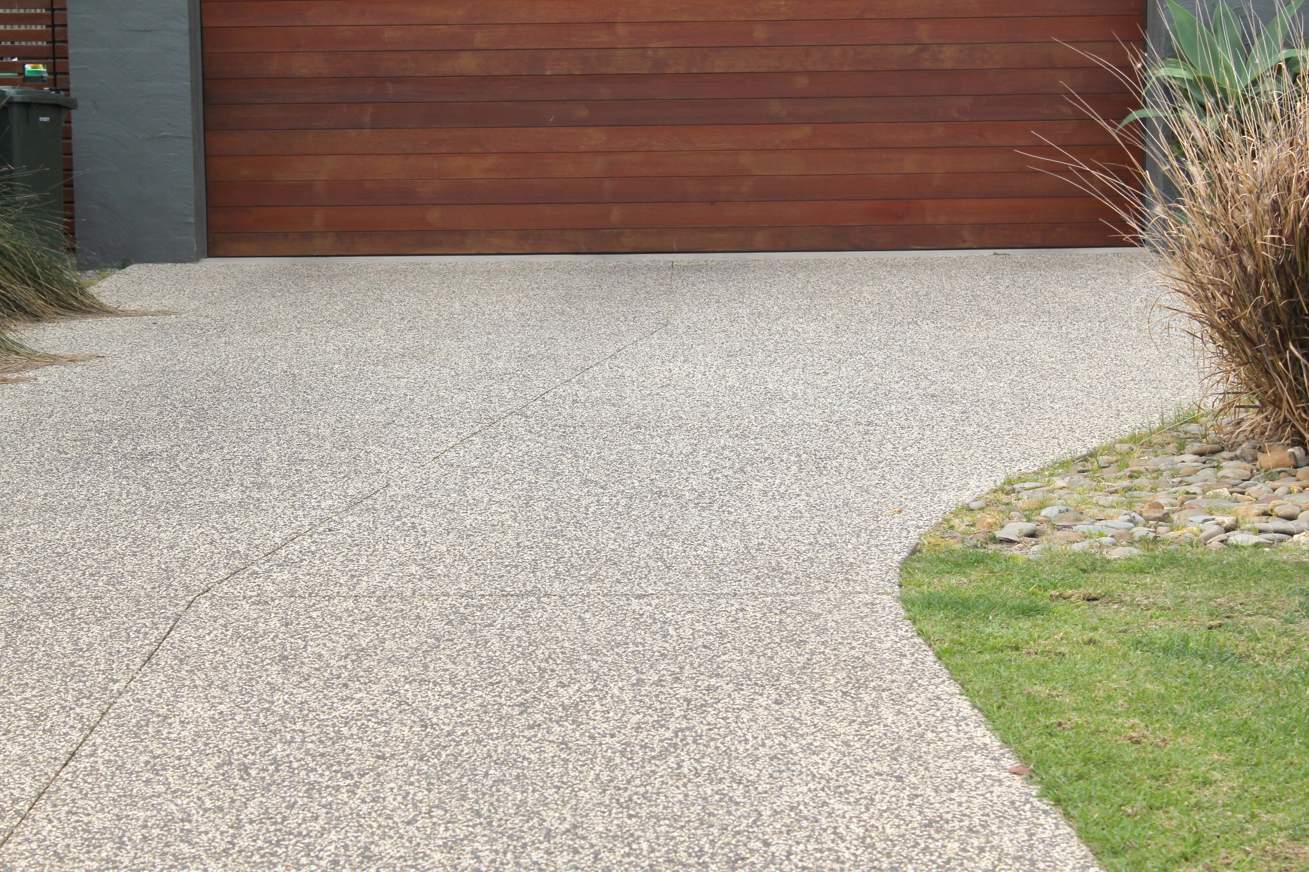 Driveway done, and landscaping started… | LOT 271